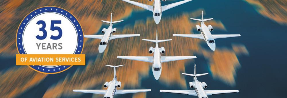 Sunrise Jets Is Celebrating 35 Years!